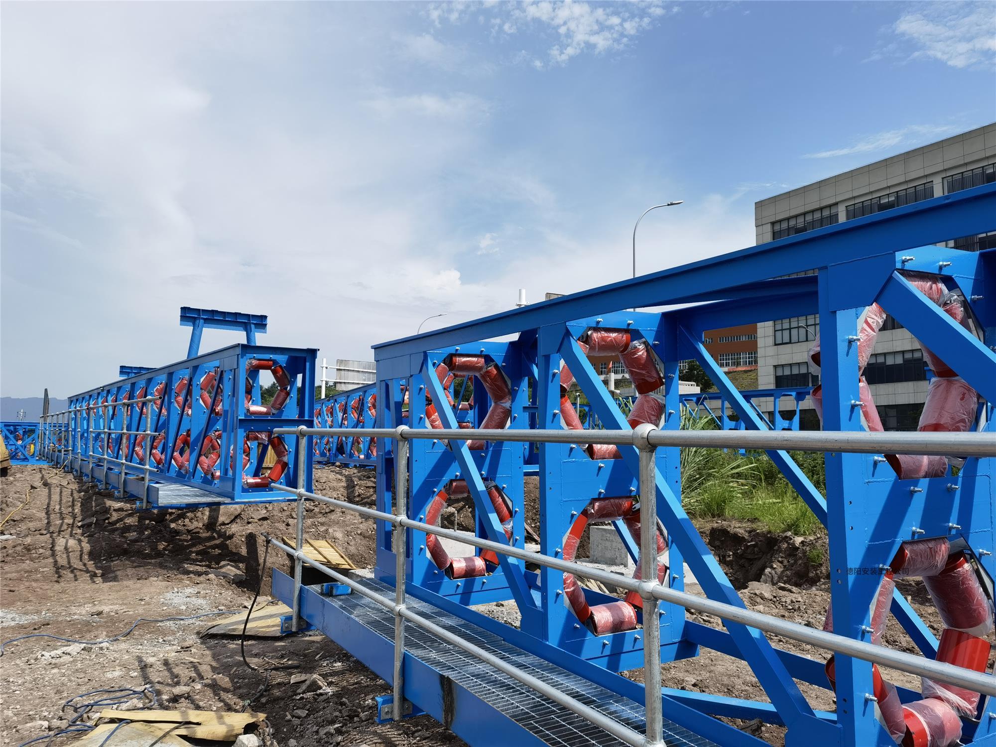 重慶市九龍萬博新材料科技有限公司年產360萬噸特鋁新管狀皮帶輸送機項目